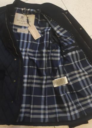 Красивая мужская куртка burberry оригинал4