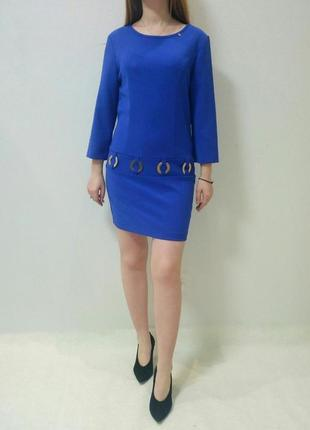 Платье  синего цвета италия rinascimento