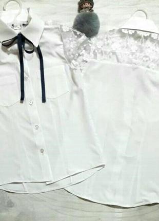 Блузка с коротким рукавом на девочку
