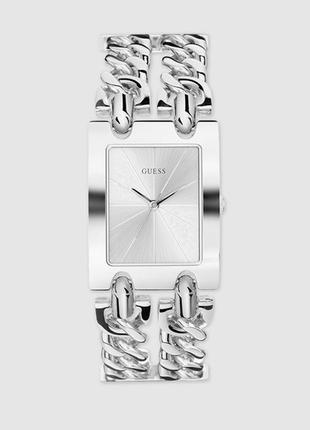 Часы guess с браслетом-цепочкой серебряного цвета