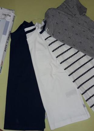 Набір (4шт)футболок для хлопчиків lupilu(germany)2