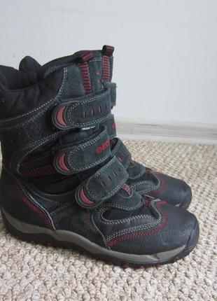 Зимние ботинки geox 35-36 р,  термо сапоги