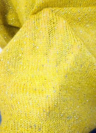 Женский свитер оверсайз с золотом4