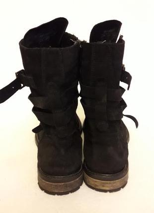 Натуральные замшевые деми ботинки фирмы oxmox p. 41 стелька 26,5см6