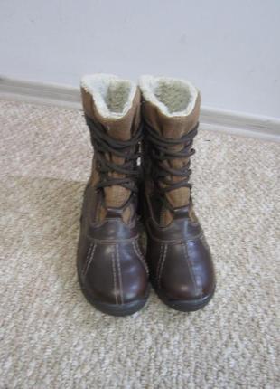 Зимние кожаные ботинки ricosta 35 р 23 см