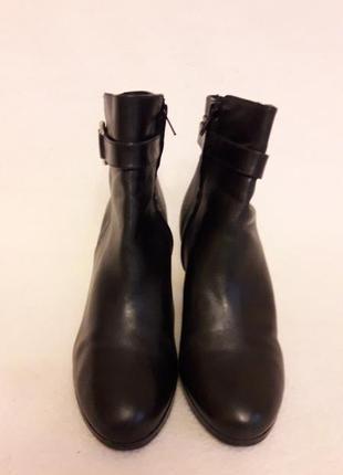 Фирменные кожаные ботильоны, ботинки от ralph lauren p. 39 стелька 25,5 см4 фото