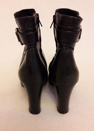 Фирменные кожаные ботильоны, ботинки от ralph lauren p. 39 стелька 25,5 см6 фото