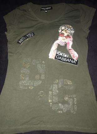 Модная футболка от dolce gabbana