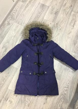 Пальто деми на возраст 6-9 лет