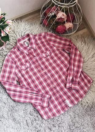 Рубашка в клеточку от  h&m