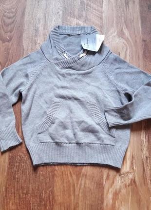Детский трикотажный пуловер