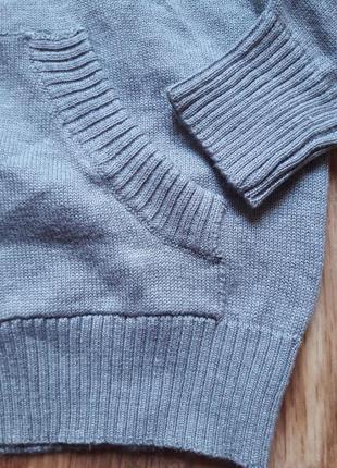 Детский трикотажный пуловер4