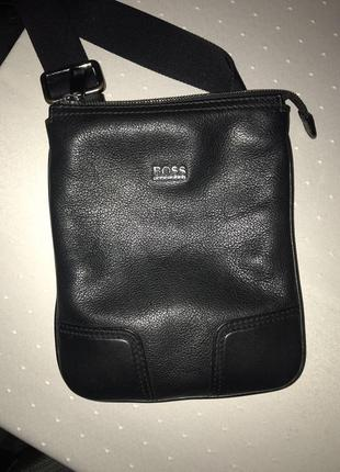 100184778044 Мужская кожаная сумка кросс боди hugo boss ( оригинал ) Hugo Boss ...