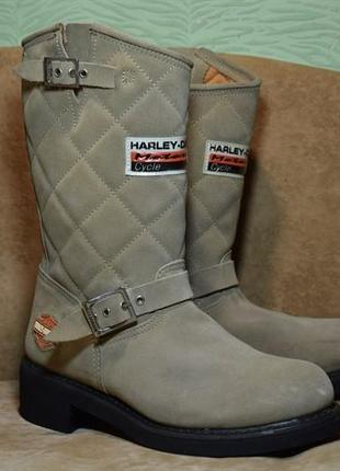 Ботинки cапоги harley davidson мото. оригинал. 41-42 р. / 27 см.
