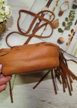 Atmosphere. стильная сумка с бахромой, кросс-боди2 фото