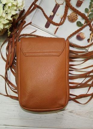Atmosphere. стильная сумка с бахромой, кросс-боди4 фото