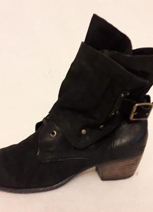 Стильные кожаные ботинки фирмы mjus ( италия) p. 41 стелька 26,5 см3 фото