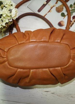 Debenhams. кожа. классная сумка средних размеров3 фото