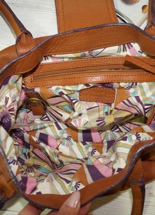 Debenhams. кожа. классная сумка средних размеров2 фото