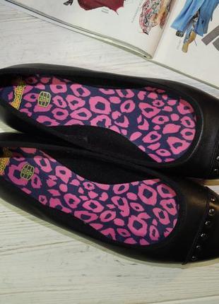Clarks. кожа. комфортные туфли на низком4