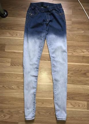 Джинсовые/стрейчевые /приталенный штаны , бренд design by kappahi