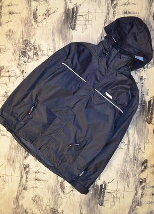 Компактная куртка- ветровка- дождевик для мальчика 13-14 лет