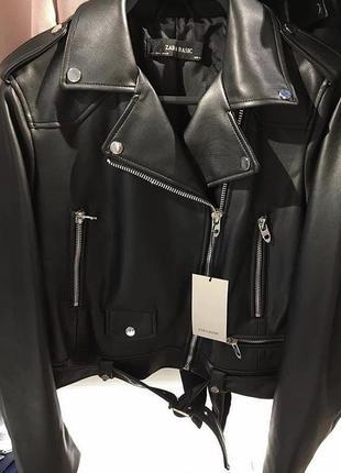 Куртка!косуха!zara!