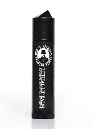 Мужской защитный бальзам для губ rebels refinery с шипованным колпачком