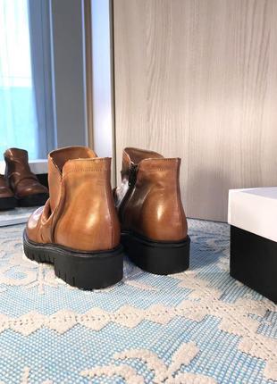 Новые кожаные ботинки/полусапожки, натуральная кожа5