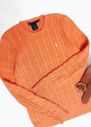 Брендовый свитерок в косы
