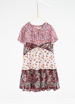Легкое летнее платье от zara 10-11 лет