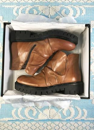 Новые кожаные ботинки/полусапожки, натуральная кожа6