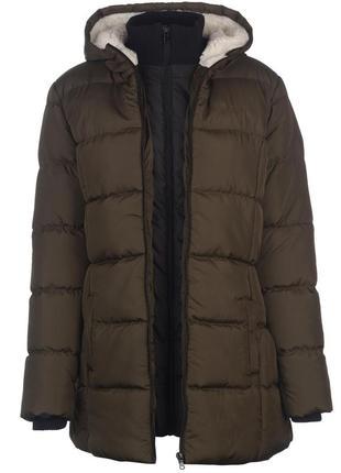 Оригинальное пальто-куртка lee cooper хакки, размер 40 (m-l)