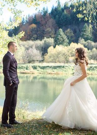 Весільна сукня5 фото