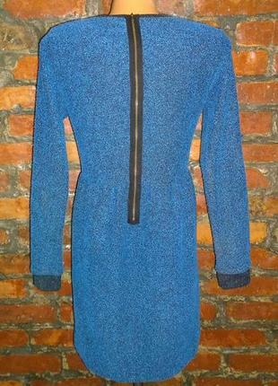 Распродажа зимней коллекции! платье из меланжевого трикотажа topshop2