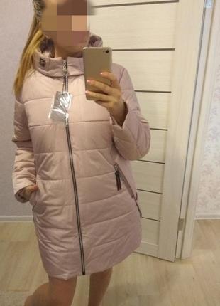 Куртка дэми с термо подкладкой , качество шикарное! по 60 размер,6 цветов .