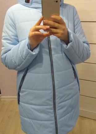 Куртка дэми с термо подкладкой, качество шикарное.по 60 размер,.