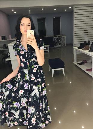 Очень красивое платье макси zara2 фото