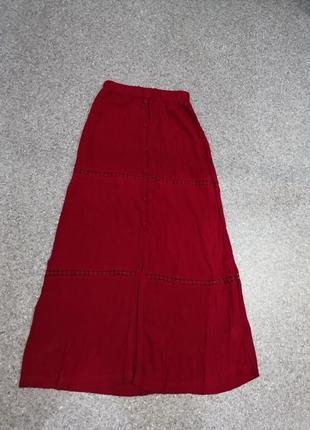 Новая юбка макси из вискозы индия