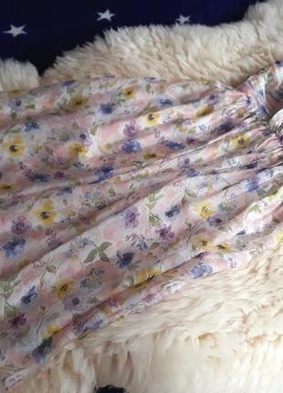 Нежное шелковое платье на одно плечо zara
