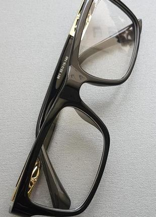 Строгие офисные очки в пластиковой оправе. бесплатная доставка