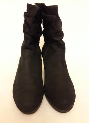 Натуральные кожаные ботинки фирмы gabor p. 39 стелька 25,5 см4 фото