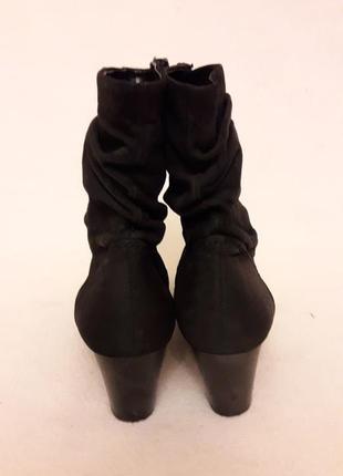 Натуральные кожаные ботинки фирмы gabor p. 39 стелька 25,5 см10 фото