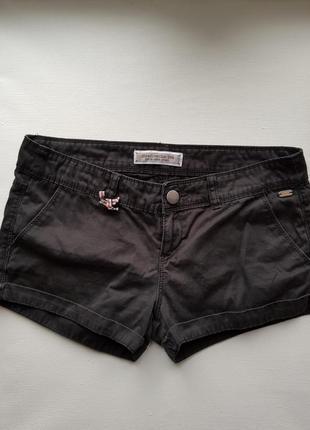 Базовые черные хлопковые шорты,короткие черные шорты на лето,удобные шорты,джинсовые шорты
