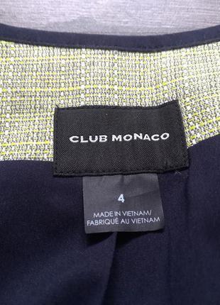 Club monaco дорогой стильный100% лен escada max mara louis feraud cerutti fabiana filippi2 фото