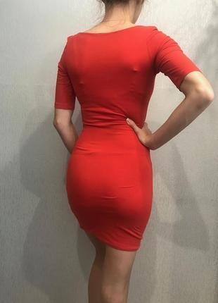 Трикотажное платье4
