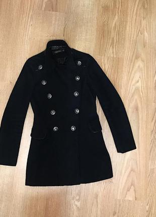 Шерстяное пальто весна/осень s/xs