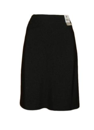 Расклешенная юбка ниже колена миди классическая офис размер 16 наш 50
