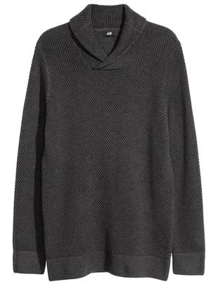 Новый мужской свитер h&m размер xl