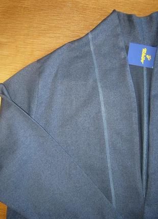 Стильный джерси кардиган модного кроя от tchibo, германия - р. 56-58 укр.6